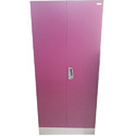 Pink And White Godrej Steel Almirah