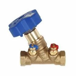 Zoloto Bronze Double Regulating Balancing Valve