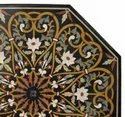 Dining Table With Stone Inlay Table Top