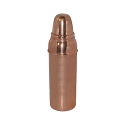 Divine Copper 100% Pure Copper Thermos Water Bottle