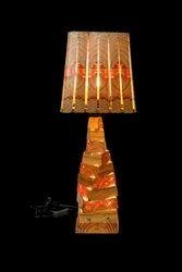 Pinewood Floor Lamp