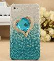 Diamond Heart Mobile Cover
