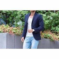 Medium And Large Linen Men Blazer