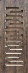 Wood Security Door Laminated Safety Door-LSP-06, For Home