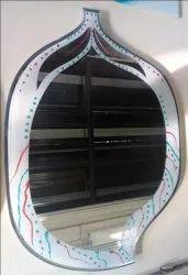 Colored Designer Mirror Glass