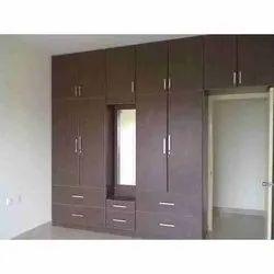 Modular Wooden Wardrobe, For Residential