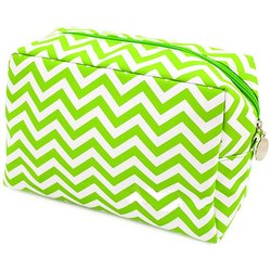 Striped Pattern Cosmetic Bag