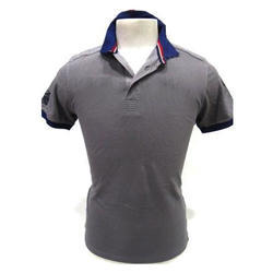 Mens Polo Neck T Shirt