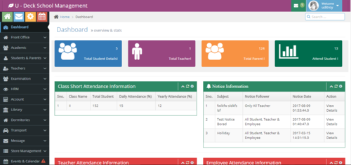 School Management System Hostel Management Software Udeck