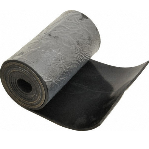 Black Neoprene Rubber Sheet 5 10 Mm Packaging Type Roll Rs 65 Kilogram Id 16711160648
