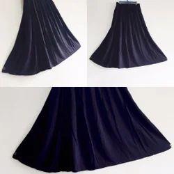 d98d7a013e8 Black Cotton Fancy Skirt