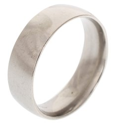 Kesar Zems Silver Shani Shanti Iron Ring for Men and Women