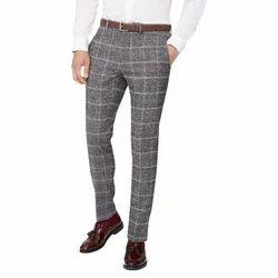 Cotton Formal Trouser, Size: 32-38