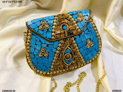 Designer Metal Mosaic Clutches