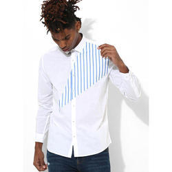 Mens White Clubwear Shirt
