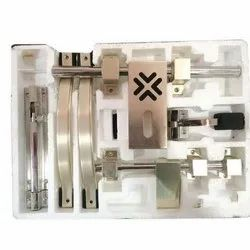 Chrome Designer Aluminum Door Kit
