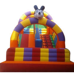 Mickey Mouse Outdoor Inflatable Slide Bouncy