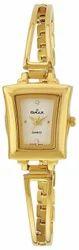 Omax Analog Gold Dial Women's Watch - BLS204Q001
