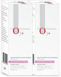 O3 Professional Brightening & Whitening (Pack Of 2 ) Face Wash (100 G)