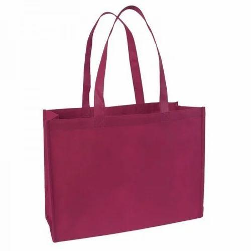 Handled Non Woven Custom Carry Bag, Capacity: 5 - 10 kg
