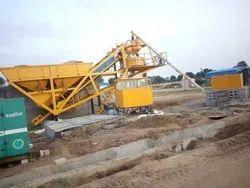 Automatic Mobile Concrete Batching Plant CBP 30
