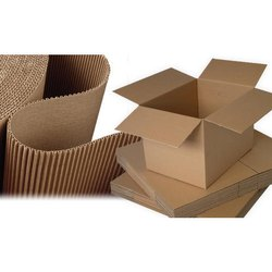 Brown Packaging Corrugated Box, Weight Holding Capacity (Kg): 5 - 10 Kg