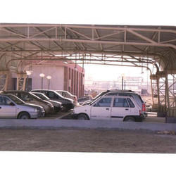 Steel Industrial Shed, Thickness: 5-110 Mm