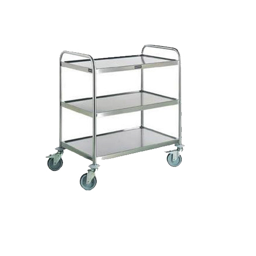 Stainless Steel Trolley for Hotel Industry