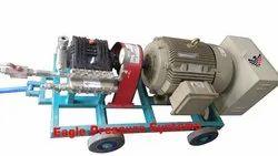 600 Bar Triplex Plunger Hydro Test Pump System