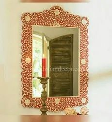 Rouge Bone Inlay Mirror