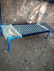 Iron Bed Charpai Chindi Work
