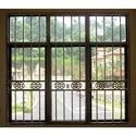Mild Steel Modern Heavy Window Grill