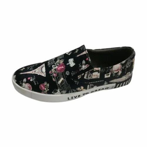 Men Printed Slip On Shoes, Size: 8 \u0026 9