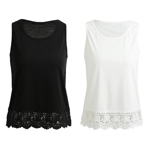 ae52602097cde Black And White Ladies Plain Casual Top