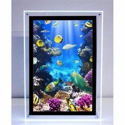 LED Crystal Display Frame