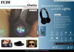 Fuzo Bluetooth Headphone Ghetto