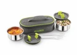 Magnus Olive 2 Steam Lock Lunch Box