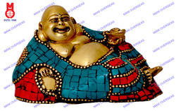 Happyman Lying Statue