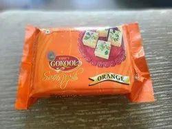 Orange Soan Papdi