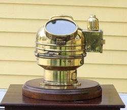 Brass Nautical Vintage Lifeboat Binnacle Compass