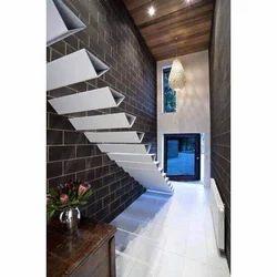 White Glass Stair