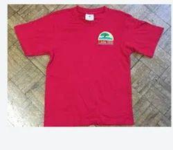Light Red School Summer T-Shirt