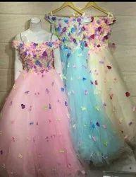 Mono Net Custom Dress