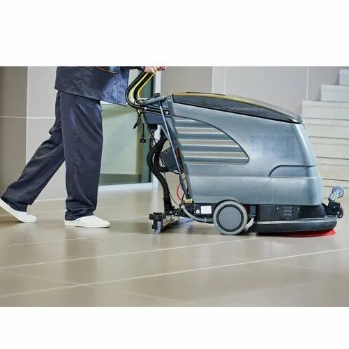 Semi-Automatic Floor Cleaning Machine