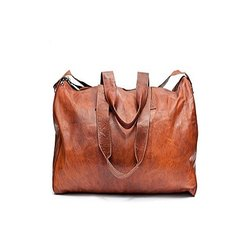 Brown Casual Wear Ladies Leather Purse