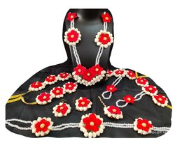 Artificial Flower Jewellery For Baby Shower