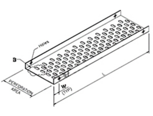 Cable Tray Perforated Type
