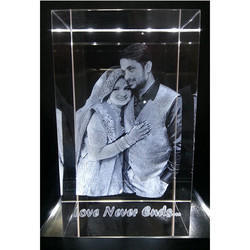 Personalized 3D Photo Crystal Gifts