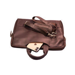 13 Inch Brown Leather Macbook Bag