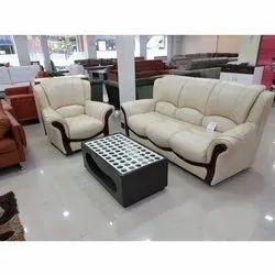 Wooden ( Frame) Off White Living Room Designer Sofa Set
